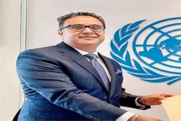 السفير محمد الملا مندوب مصر الدائم لدى الأمم المتحدة