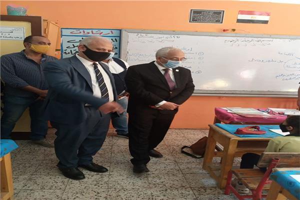 نائب وزير التربية والتعليم والتعليم الفني د. رضا حجازي