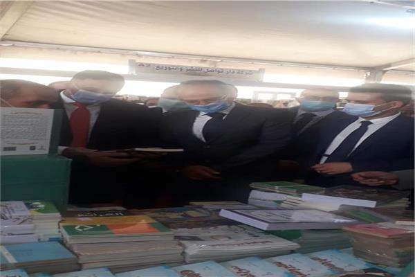محافظ الدقهلية ورئيس هيئة الكتاب يفتتحان معرض المنصورة للكتاب