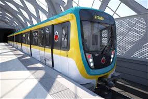 صورة لقطار «مترو»