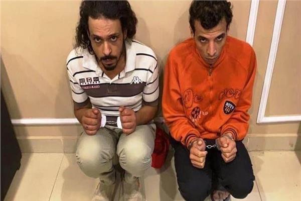 المتهمين بقتل فتاه المعادي