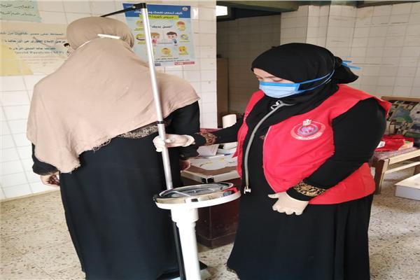 المبادرة الرئاسية لدعم صحة المرأة بالشرقية