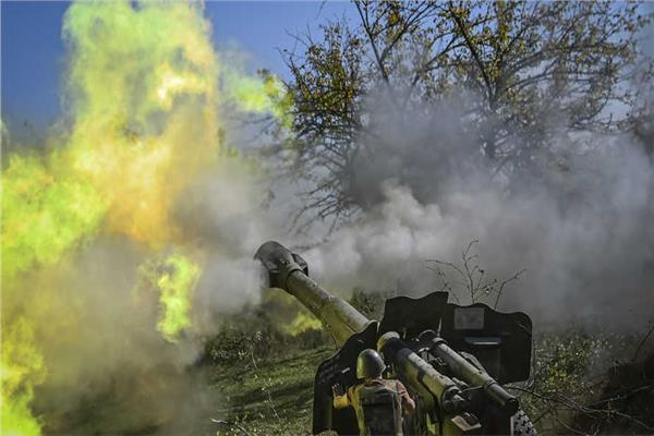 صورة من الحرب الدائرة في ناغورنو قرة باغ