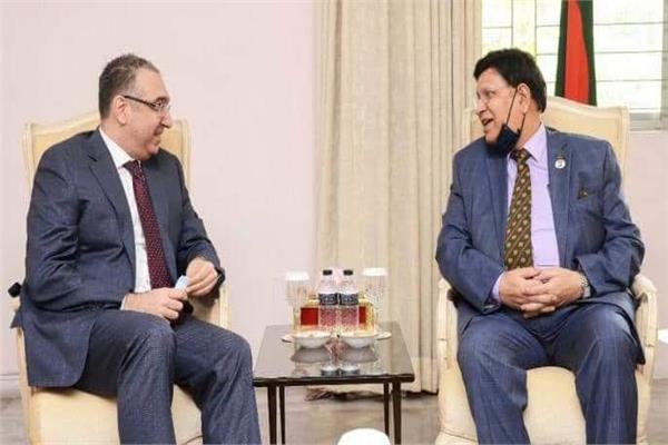 وزير خارجية بنجلاديش يستقبل السفير المصري