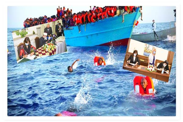 وزيرة الهجرة تعول كثيرا على «مراكب النجاة» لمكافحة الهجرة غير الشرعية (موضوعية)