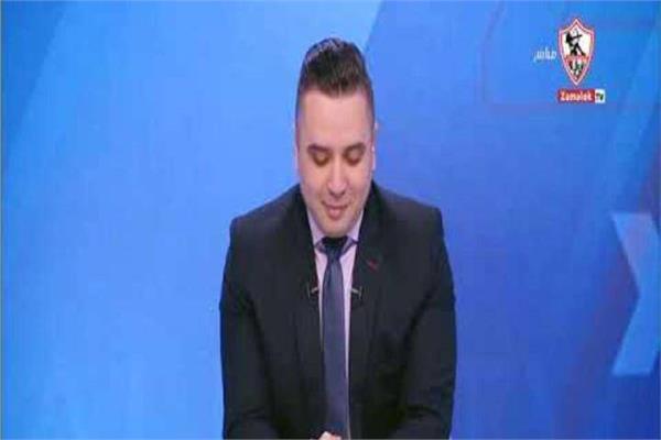 أحمد جمال مقدم برنامج زملكاوي