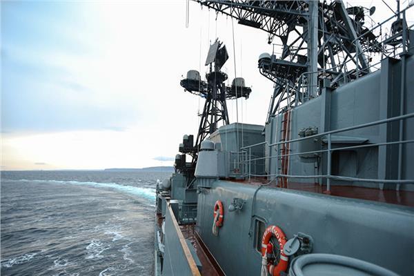 أسطول بحر الشمال الروسي يختبر صاروخا جديدا مضادا للغواصات