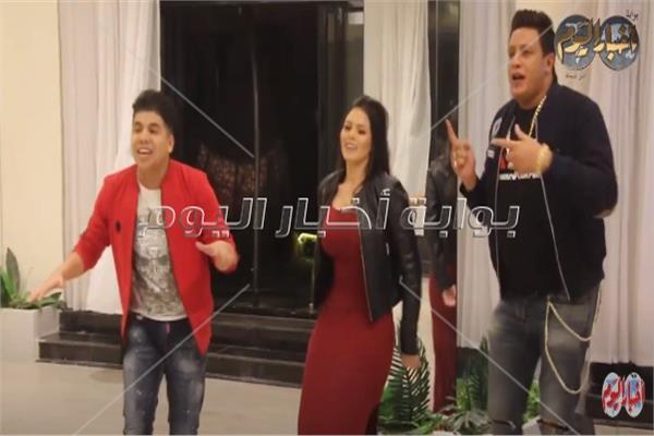 لوريانا وعمر كمال وحمو بيكا