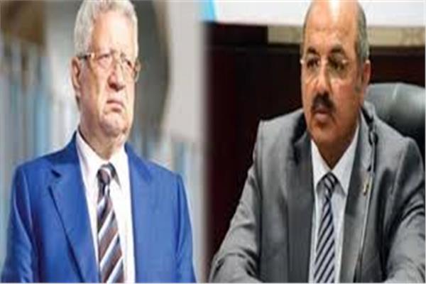 هشام حطب - مرتضى منصور