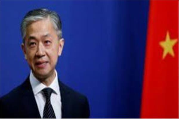 للمتحدث باسم وزارة الخارجية الصينية وانغ وين بين