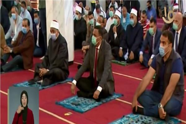 شعائر صلاة الجمعة من مسجد الجامعة بالدقهلية