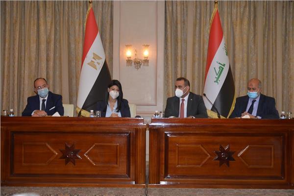 وزيرة التعاون الدولي تترأس  أعمال الاجتماعات التحضيرية للجنة العليا المصرية العراقية المشتركة