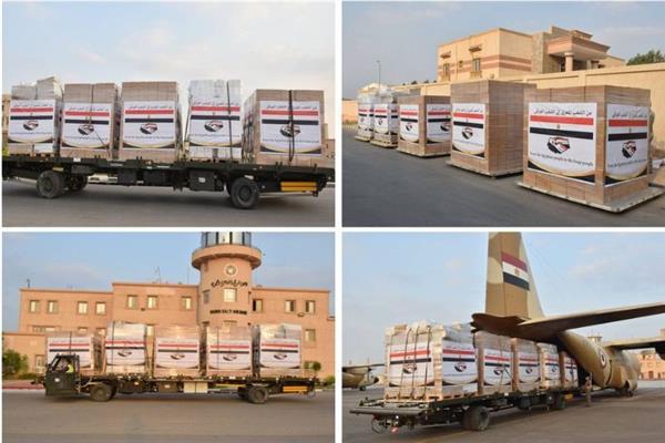 مصر ترسل مساعدات عاجلة للعراق