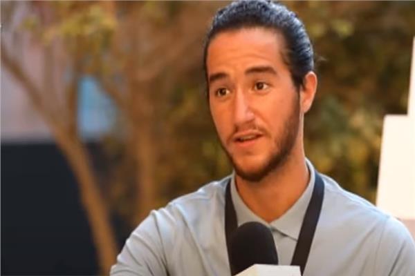 الفنان الشاب أحمد مالك