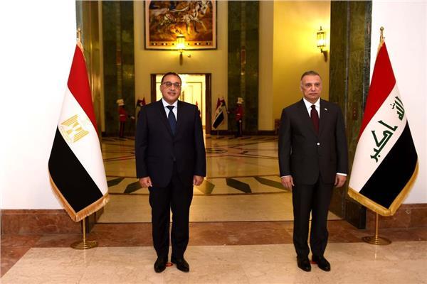 لقاء رئيس الوزراء بنظيره العراقي