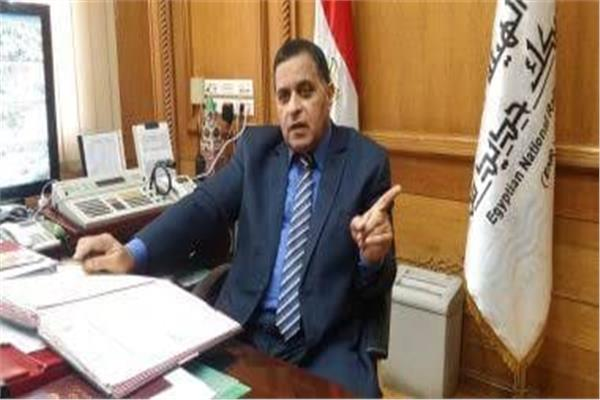 أشرف رسلان رئيس هيئة السكك الحديدية