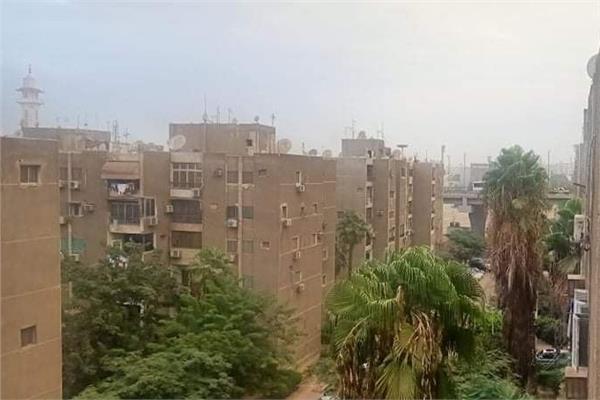 سقوط أمطار خفيفة على محافظة القاهرة