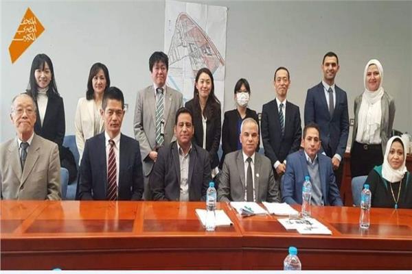 فريق الترميم الياباني المصري