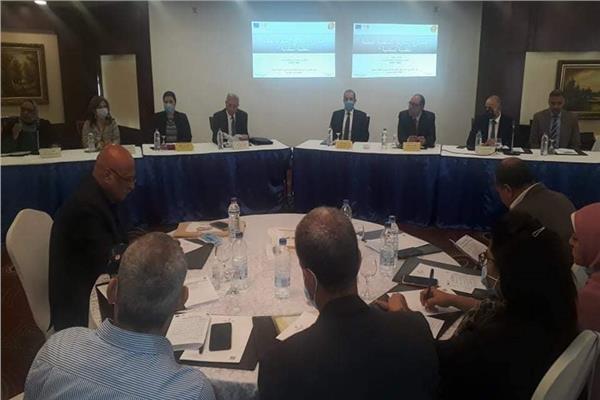 قيادات محافظة الفيوم وصندوق الأمم المتحدة للسكان خلال ورشة العمل