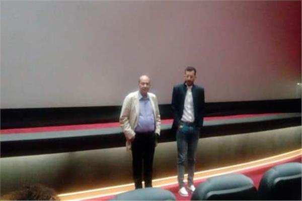 """بشير أبو زيد  المخرج يتحدث  عن فيلمه """" المفقود"""" خلال  ندوة بمهرجان الاسكندرية السينمائى"""