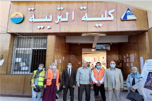 زيارات صندوق مكافحة وعلاج الإدمان والتعاطي بكليات جامعة السادات