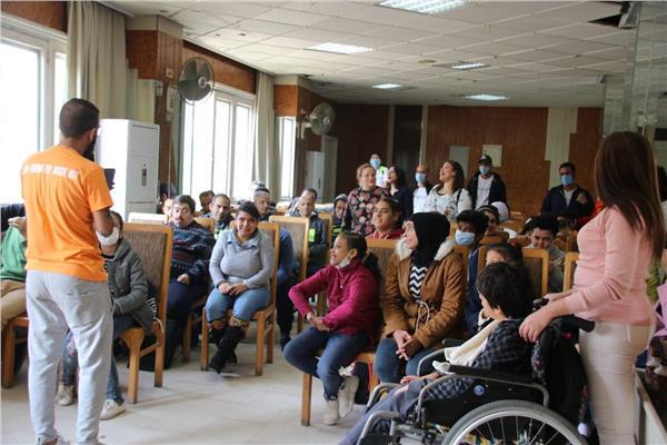 يوم مشترك بين دار سيدة السلام ومؤسسة 'أهل مصر' لعلاج الحروق