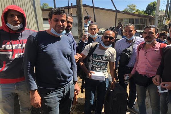 إخلاء ٩ مصريين عالقين في اقليم تيجراي بأثيوبيا