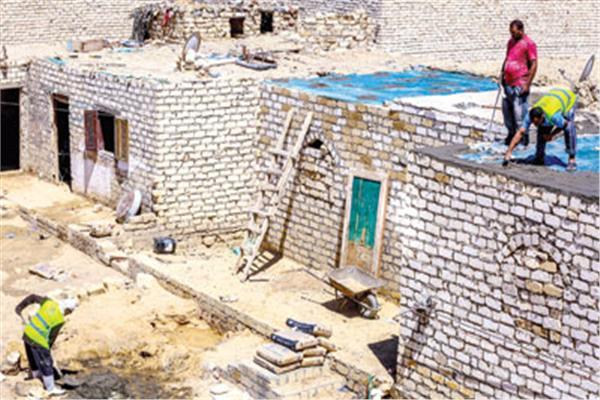 تسقيف المنازل فى القرى الأكثر فقراً