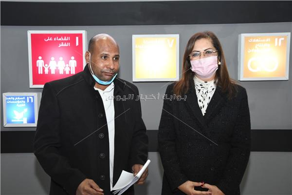 محرر بوابة أخبار اليوم مع د. هالة السعيد وزيرة التخطيط والتنمية الاقتصادية