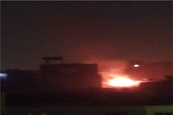 حريق بمنطقة المرج