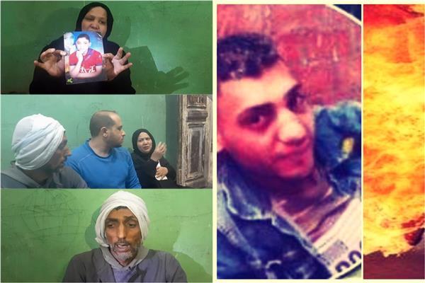 أسرة ضحية كرداسة مع «محرر بوابة أخبار اليوم»