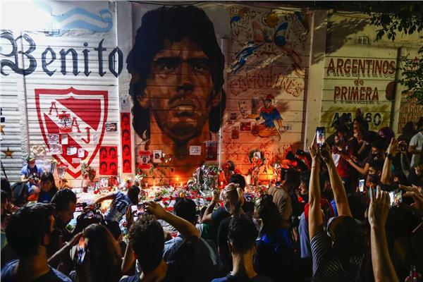 وداع شعبي لمارادونا في الأرجنتين