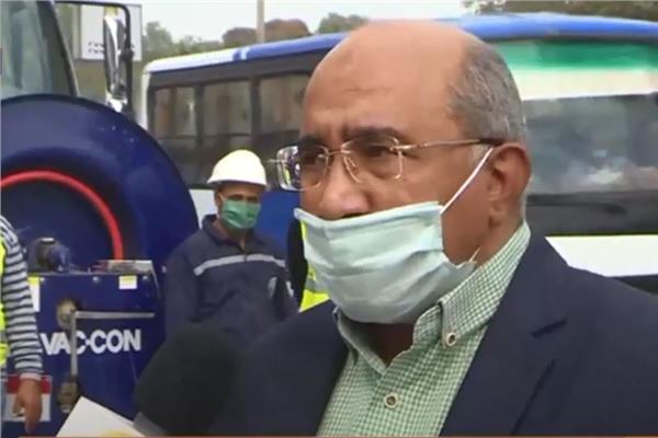 وليد عابدين المتحدث الرسمي باسم شركتي القاهرة و الجيزة لمياه الشرب و الصرف الصحي