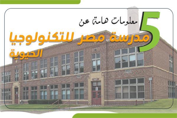5 معلومات عن مدرسة مصر للتكنولوجيا الحيوية