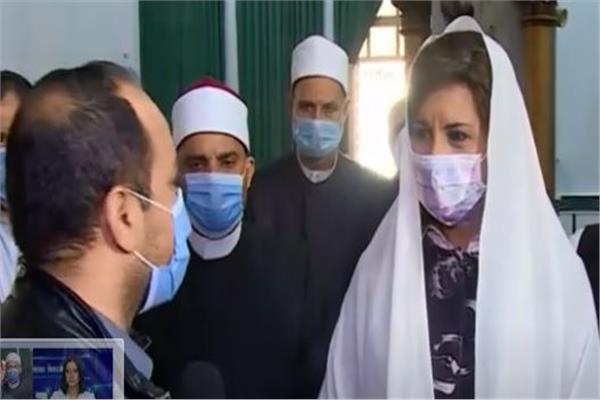 وزيرة الهجرة، السفيرة نبيلة مكرم