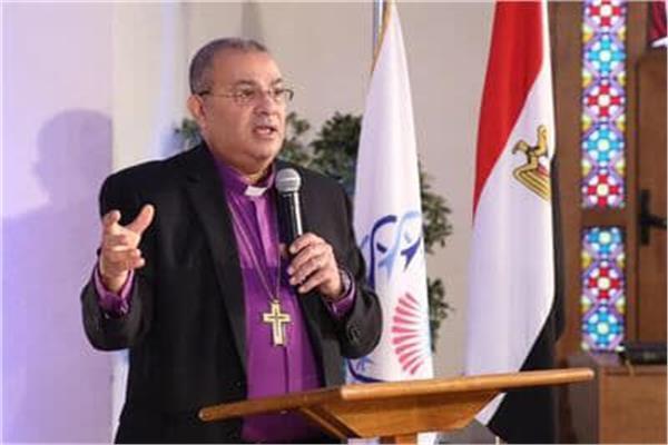 القس الدكتور اندريه زكي رئيس الطائفة الانجيلية