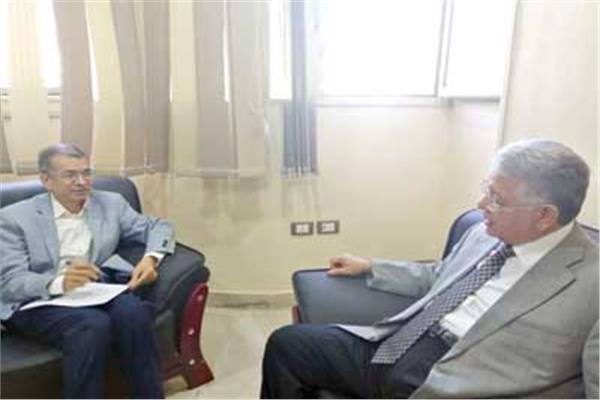 د. جمال شيحة خلال حواره مع «الأخبار»