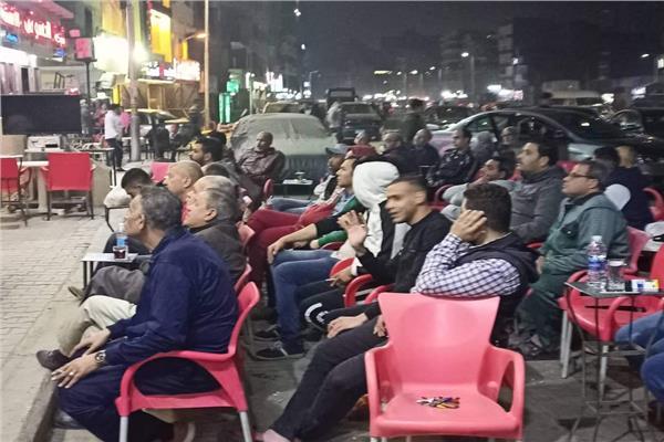 فرحة الجماهير بفوز النادي الأهلي بكأس مصر