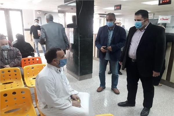 نائب محافظ القاهرة خلال جولته