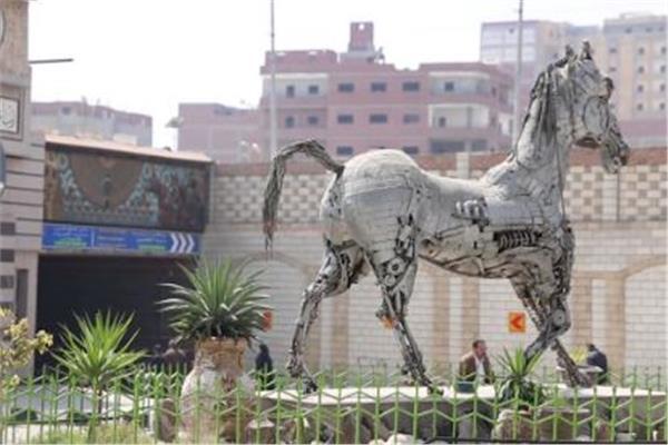 حصان ميدان الشرقية