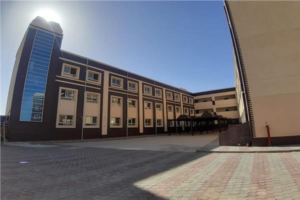 الانتهاء من تنفيذ مدرسة النيل الدولية