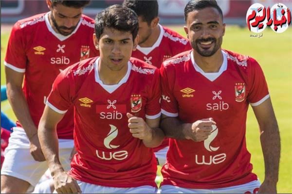 محمود وحيد لاعب النادى الأهلى