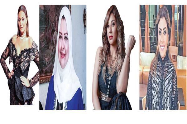 بشري و إنچى و منى أبو شنب و نشوى مصطفى و سمية الخشاب