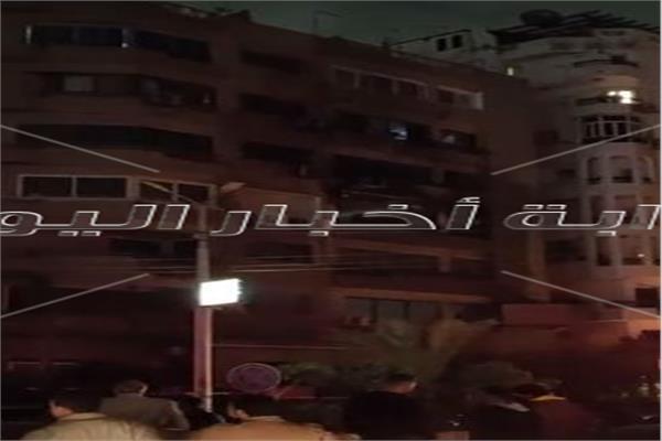 اخماد الحريق بشقة بمصر الجديد