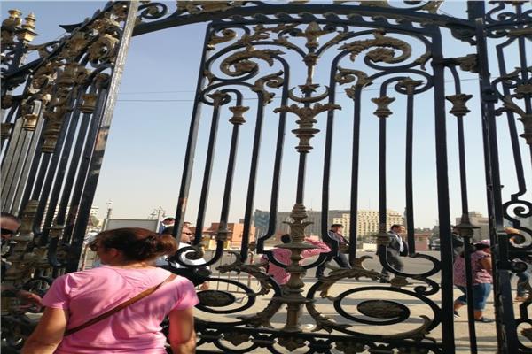 بوابة المتحف المصري بالتحرير