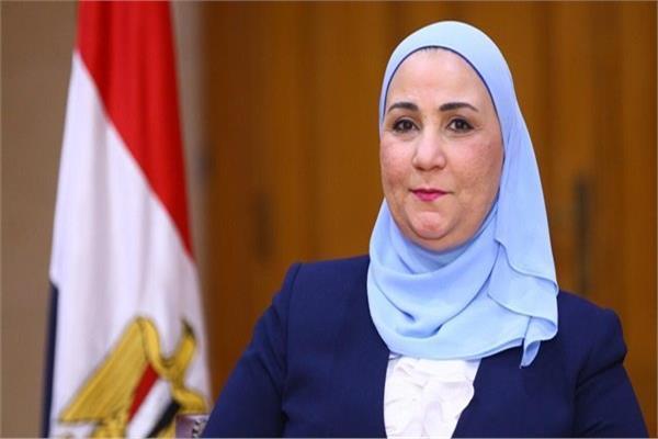 وزيرة التضامن الإجتماعي