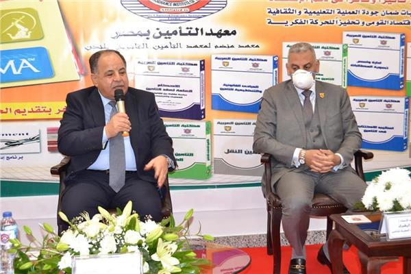 الدكتور محمد معيط وزير المالية، رئيس الهيئة العامة للتأمين الصحى الشامل