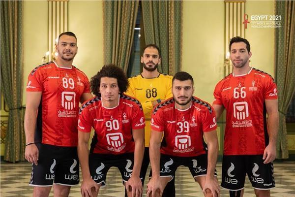 نجوم منتخب مصر لكرة اليد