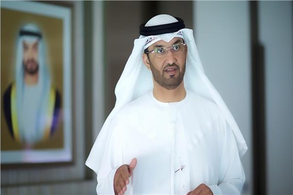 سلطان الجابر وزير الصناعة والتكنولوجيا المتقدمة، بدولة الامارات