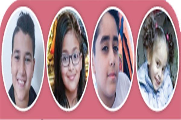 مجموعة من الأطفال الذين أصيبوا بفيروس كورونا وتم شفائهم